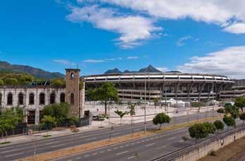 The Estádio do Maracanã (Estádio Jornalista Mário Filho)