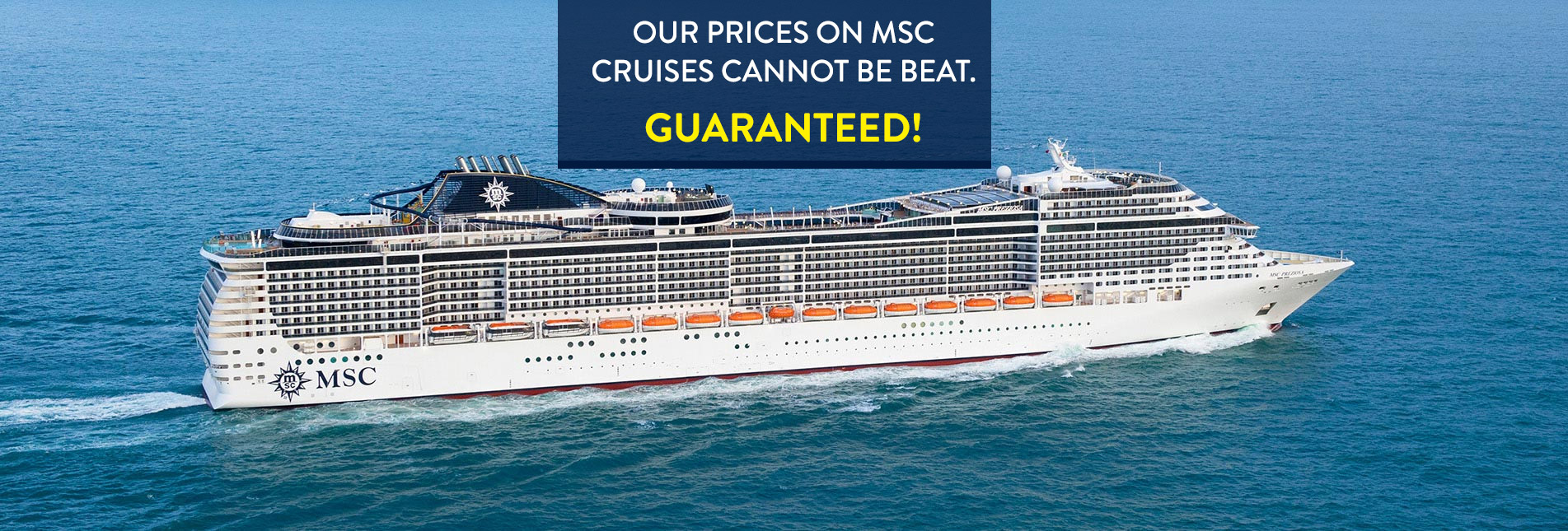 Msc Cruises Msc Cruise Holiday Deals
